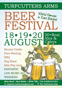 Turfcutters Arms Summer Beer Festival 2017