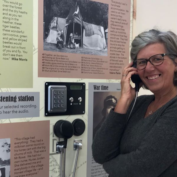 East Boldre Oral History project - curator Nicola Curzon