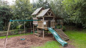 Outdoor play area at the Turfcutters Arms