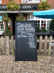 Turfcutters Arms East Boldre Summer Beer Festival 17-19 August 2018