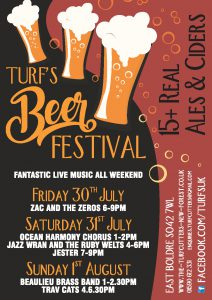 World famous Turfcutters Beer Festival