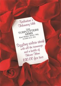Valentine's Night at the Turfcutters Arms